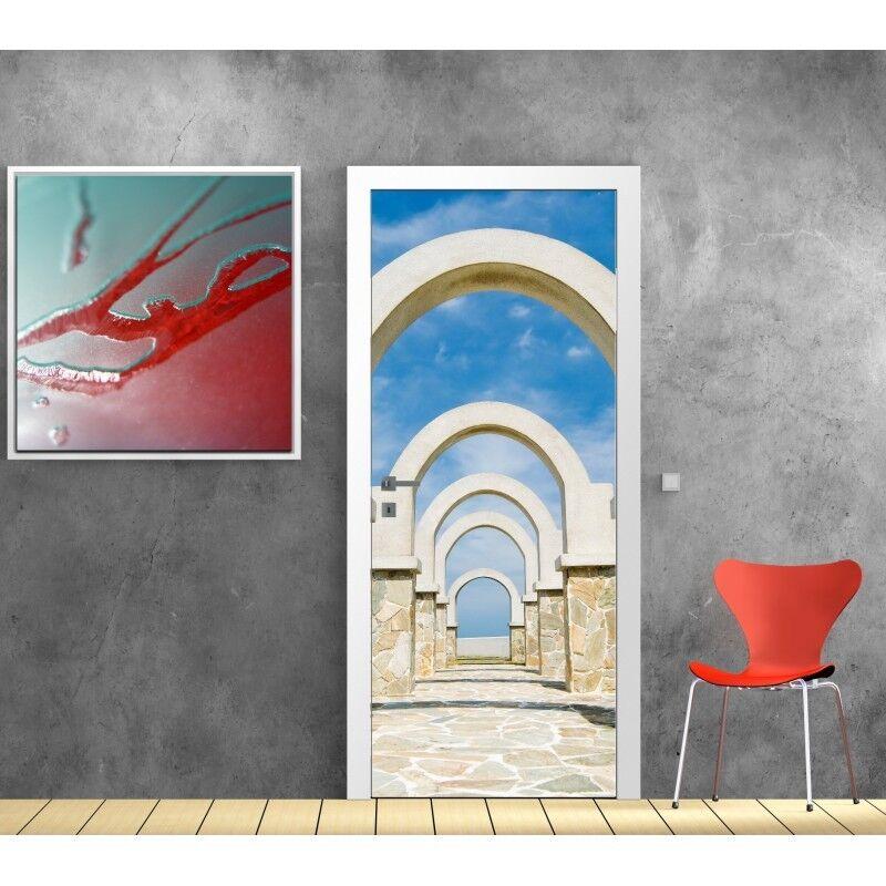 Plakat Plakat Tür Deko Bögen 803 Art Deco Aufkleber