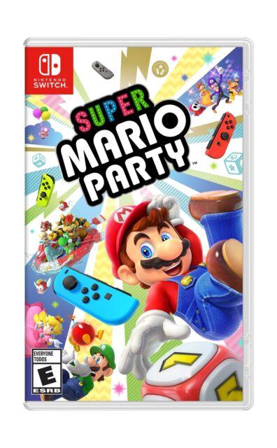 Super Mario Party Nintendo Switch Disc Standard