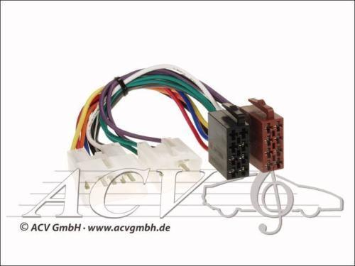 ACV 1300-02 ISO Radio Adaptador Daihatsu Applause Charade Sirion move toyota lexus