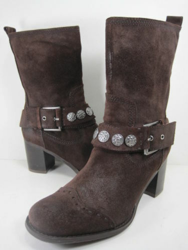 BIVIEL BV2129 FRANK T. Mgold BOOT WOMENS US Size 8.5 EUR 38.5