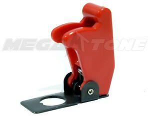Toggle Switch Cover >> Details About 1 Pc Red Toggle Switch Safety Cover Guard Plastic Metal Usa Seller