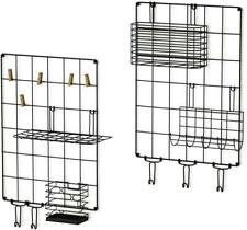 Love Kankei Wall Grid Panel Wire Grid Panel Set Of 2 For Wall Decoration Or Orga
