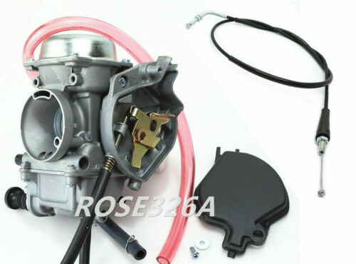 Carburetor /& Throttle Cable for Kawasaki Bayou 400 KLF400B 1996-1999