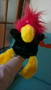 Baker brush Co Large Rustling Bird of Paradise Macaw Parrot Hand Arm Toy puppet
