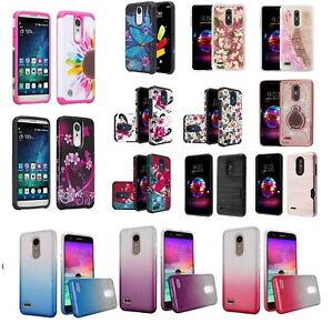 new product cac63 3c4f6 LG K30 Slim Hybrid Hard Case Shockproof Armor Diamond Cover Cell ...