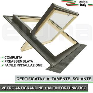 Finestra-da-tetto-COMFORT-BILICO-114x118-Apertura-Basculante-tipo-Velux