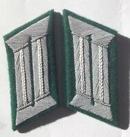 WW2 GERMAN ARMY OFFICER COLLAR TABS INFANTRY