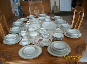 Image is loading Heinrich-Selb-Bavaria-Imperial-Vintage-Porcelain-China-77- & Heinrich Selb Bavaria Imperial Vintage Porcelain China 77 Piece ...