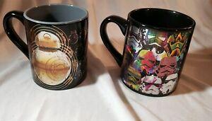 Star Wars Bb8 and Clones Holographic Coffee Mug 14 Oz. Cups Bx21