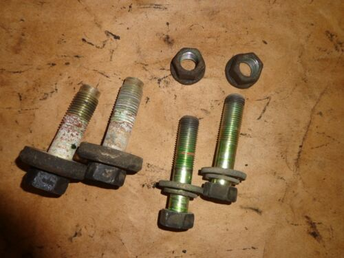 Toyota Supra MK3 1986.5-92 Rear Differential Mounting Hardware OEM 6 Pieces
