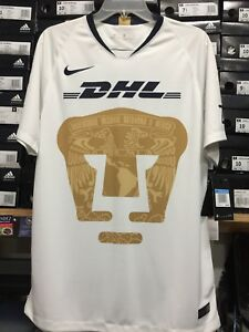 pretty nice a67ba 1215c Details about nike pumas unam Home Jersey 2018 White Size Medium Only