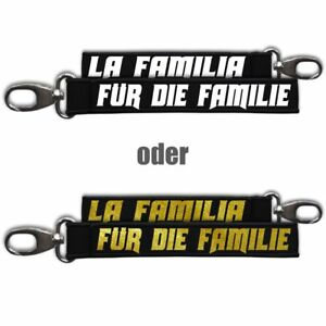 Neopren Schlüsselanhänger Schlüsselband La Familia Für Die Familie Support Crew Hohe Sicherheit