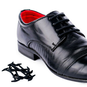 c0b790d5aaa4a Smart No Tie Silicone Shoelaces Dress Formal Shoe Laces Round Laces ...