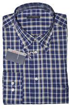 Camicia da Uomo 100 cotone manica lunga classica elegante taschino xxl xxxl m l
