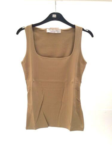 ZARA WOMEN/'S T-shirt lookbook Spring//Summer Fashion Sans manches élastique multi