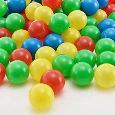 Bälle für Bällebad Ø55mm Kugelbad Spielbälle Mix Bunt Ball 100 Stück