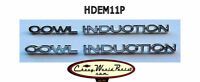 Cowl Induction Hood Emblem Set Chevelle El Camino