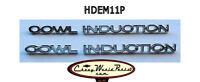 Cowl Induction Hood Emblem Set Chevelle El Camino