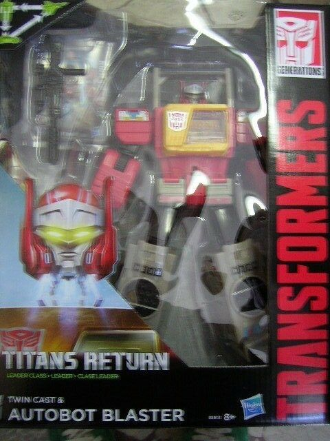 TRANSFORMERS TITANS RETURN RETURN RETURN TWIN CAST & AUTOBOT BLASTER B5613 873512