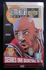 1994/95 UPPER DECK COLLECTORS CHOICE NBA BASKETBALL SERIES 1 HOBBY BOX NEW