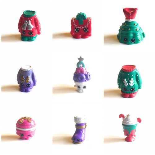 New Shopkins Christmas Holiday Bauble 2017  Loose Single Figure Choose Your Own