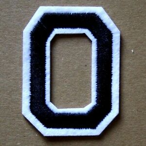 Letter-O-Patch-Alphabet-Iron-Sew-On-Applique-Badge-Motif