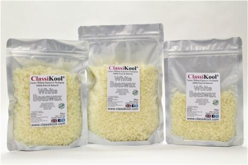 Balms Polish Soap Classikool White /& Yellow Beeswax Pellets for Candles