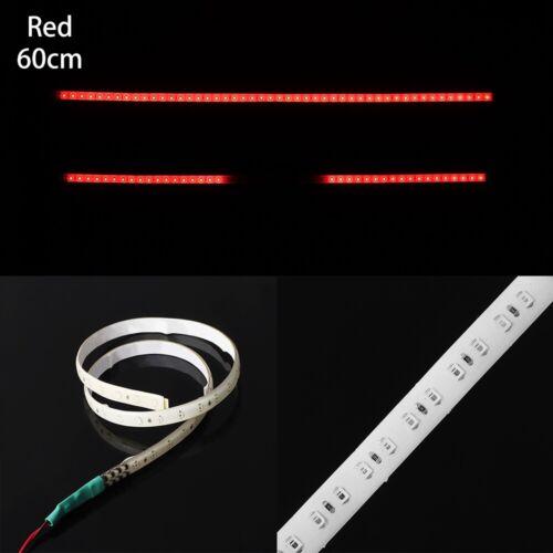 60CM 48LED DIY Car Decor Strobe Scanner 30CM 32 LED Neon Strip Light Flash
