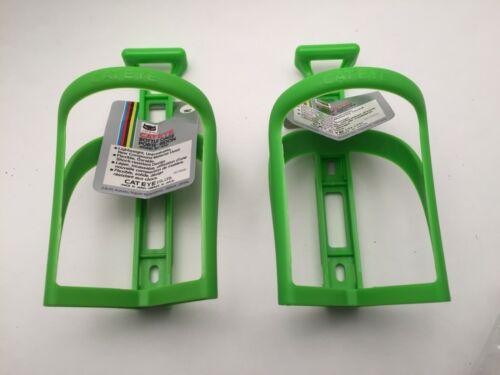 Paire de CATEYE vintage bouteille d/'eau Cages BC-100 Japan Green