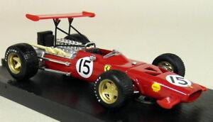 Brumm-1-43-Scale-R301-Ferrari-312-F1-Spain-GP-1969-Chris-Amon-Diecast-Model-Car