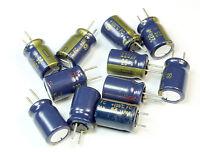 10pcs Panasonic 220uf 25v 105c Radial Electrolytic Capacitor (8mm X 12mm)