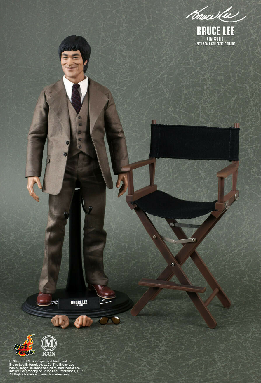 Hot Toys Bruce Lee In Suit MIS11 1 6th