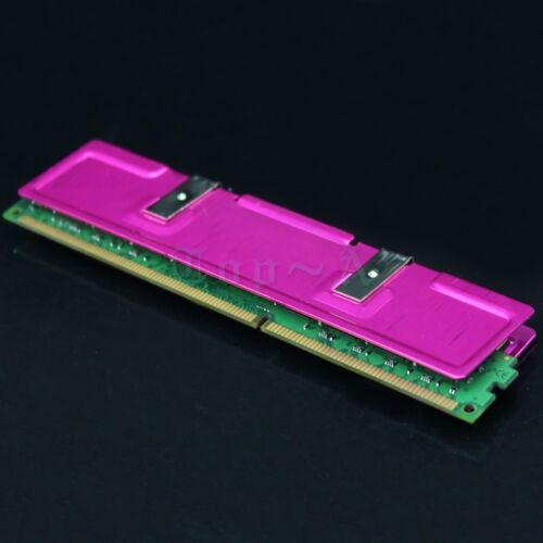 NEW 2PCS Aluminum Heatsinks For Computer PC RAM Memory DDR Cooler Cooling Pink