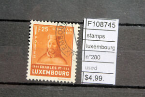 STAMPS-LUXEMBOURG-N-280-USED-F108745
