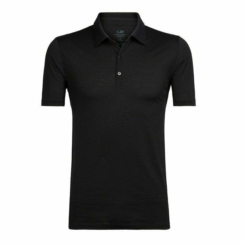 Icebreaker Mens Tech Lite Short Sleeve Functional  Polo easy Odourless  high quality genuine