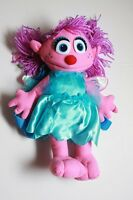 Sesame Street Abby Cadabby Plush Backpack Doll Bag Large 14 Licensed