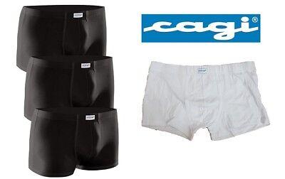CAGI boxer uomo mod 5289 bianco 100/% cotone