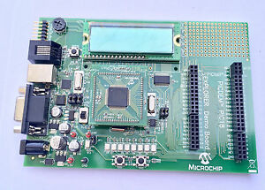 Microchip-PIC-Microcontroler-PIC18-Explorer-Board