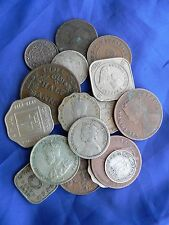 Dealer lot - good group of mixed India Ceylon etc coins - including  silver