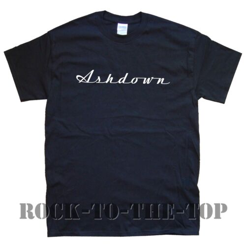 ASHDOWN new T-SHIRT sizes S M L XL XXL black white grey brown maroon