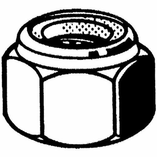 10 Sicherungsmuttern M27 gelb verzinkt DIN 985 mit Kunststoffeinsatz 10 Stk