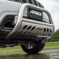 Aries 35 5006 Bull Bar Withstainless Skid Plate 3 Fits 2002 2018 Ram 3500 Fits 2005 Dodge Ram 1500