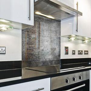 Splashback-Paraschizzi-Paraspruzzi-Rivestimento-Cucina-stoffa-pattern-grigio