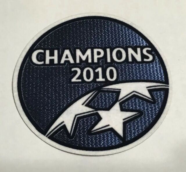 uefa champions league winner 2010 2011 barcelona sleeve soccer patch badges for sale online ebay uefa champions league winner 2009 2010 inter milan sleeve soccer patch badge