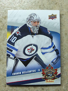 16-17-UD-Tim-Horton-039-s-Heritage-Classic-Rookie-RC-JETS-4-CONNOR-HELLEBUYCK