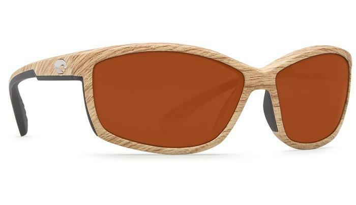 New Costa del Mar Manta 580G Polarized Sunglasses Ashwood/Copper Ashwood/Copper Ashwood/Copper Glass Men/Damens 87e407