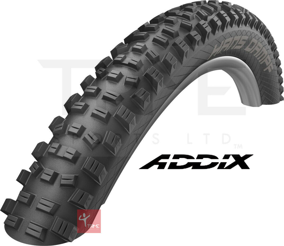"""Schwalbe Hans Dampf ADDIX Performance TLR Folding Tyre HS491  26"""" 27.5"""" 29ER 2019  discount low price"""