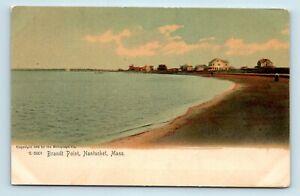 Nantucket-MA-PRE-1908-COLOR-VIEW-OF-BRANDT-POINT-POSTCARD-D7