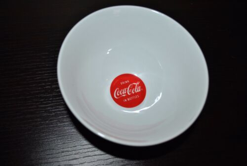 NEW DRINK COCA-COLA IN BOTTLES Breakfast BOWL Retro Girl COWGIRL Advertising