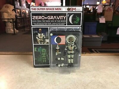 2018 Outer Space Men Zero Gravity Man from the Darkside of the Moon Figure MOC